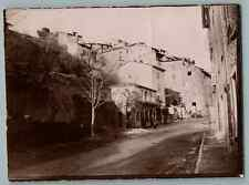 France, Thorenc (Andon), Vieille Ville  Vintage citrate print. Alpes Maritimes