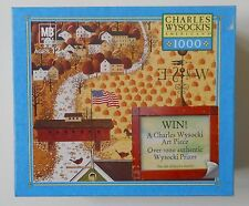 Charles Wysocki Americana Puzzle APPLE SEED WOODS 1000 PC 2005 SEALED NIB