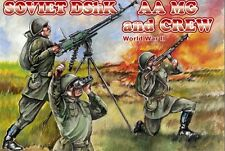 Orion 1/72nd Scale Plastic WWII Russian Dshk AA MG Figures Set 72038 New Boxed!