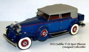Franklin Mint 1932 CADILLAC V-16 1/24 MIB!
