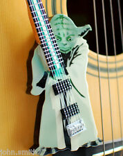 Miniature Guitar Star Wars Master Yoda Lightsaber Theme Guitar Art