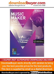 MAGIX Music Maker 2017 Live - [Download]