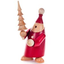 Red Santa Natural Christmas Tree German Smoker