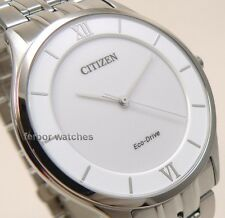CITIZEN ECO DRIVE STILETTO SUPER THIN STAINLESS STEEL SAPPHIRE AR0071-59A cg