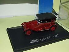RENAULT TYPE NN 1927 Bordeaux UNIVERSAL HOBBIES