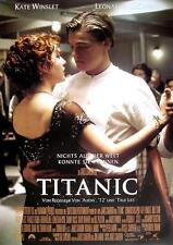 """TITANIC FILM POSTER """"NICHTS AUF DER WELT KONNTE SIE TRENNEN"""""""