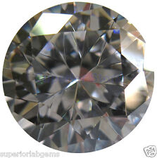 6.00 mm 0.75ct  Round Cut Lab Diamond, Simulated Diamond WITH LIFETIME WARRANTY