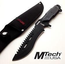 KNIFE COLTELLO DA CACCIA MTECH-621 SURVIVOR SOPRAVVIVENZA SURVIVAL STILE RAMBO