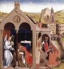 Weyden Dream Of Pope Sergius A4 Print