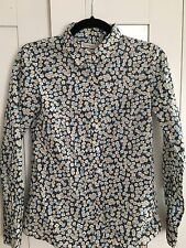 J CREW Perfect Leo Scarlet Floral Liberty of London Button Down Shirt