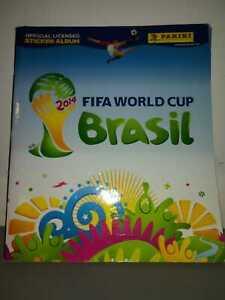 Album completo figurine Panini mondiali di calcio 2014