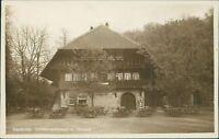 Ansichtskarte Karlsruhe Schwarzwaldhaus im Tierpark  (Nr.9035)