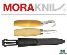 Morakniv Fixed Blade Knife Wood Carving Set Carving And Hook Knife 00291