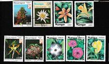 Nicaragua  9 timbres