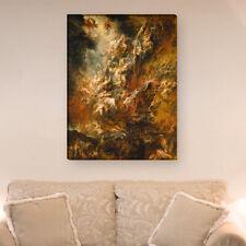 """WANDKINGS Leinwandbild Peter Paul Rubens - """"der Höllensturz der Verdammten"""""""