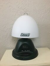 Vintage- Coleman Deluxe Table Lamp Battery Operated Clock Alarm Camping Light