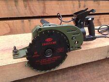 """!!SALE!! Cuz-D Straight Flush Saw, 8-1/2"""", Zero Clearance Worm-drive Saw w/Blade"""