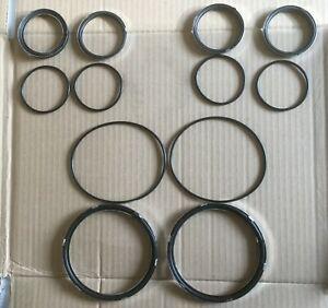 JAGUAR MK2 instrument refurbishment kit of seals (12)