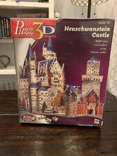 Puzz 3D Neuschwanstein Castle Puzzle, New - Sealed in Plastic