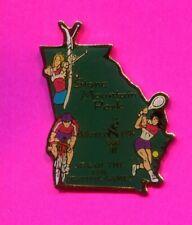 1996 OLYMPIC PIN ARCHERY PIN STONE MOUNTAIN VENUE PIN CYCLING TENNIS VENUE PIN