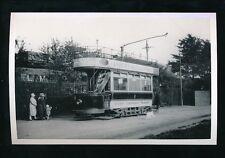 Transport Wilts SWINDON Tram #9 Railway Photograph by Packer 1964