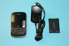 BLACKBERRY Bold 9900, UNLOCKED, touch smartphone, qwertz, battery, charger