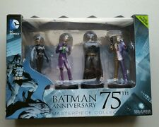 Batman 75th Anniversary Figurine Box Set with Collector Magazine