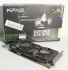 KFA2 GeForce GTX 1070 EXOC SNPR Black 8 Go GDDR5 Carte Graphique 70NSH6DHM9EK