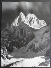 Photo Argentique Georges Tairraz Montagne Chamonix Vers 1950