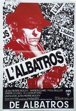 """""""L'ALBATROS"""" Affichette belge originale (Jean-Pierre MOCKY)"""