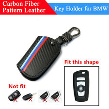 Fashion M-Colored Stripe Car Keychain Leather Key Bag For BMW 2 3 4 5 6 7 Series