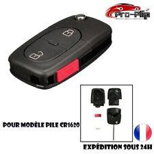 CLE PLIP Volkswagen Transporter Touareg Jetta 2 boutons + PANIC pour pile CR1620