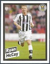 PANINI SCOTTISH PREMIER LEAGUE 2008- #428-ST MIRREN-RYAN McCAY IN ACTION