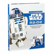 Star Wars Master Models R2-D2 1 Foot Paper Model with Galactic Hero Book