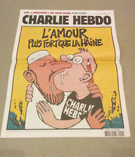 CHARLIE HEBDO 1012 rare hard to get paper French