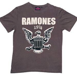 Ramones 1234 Logo Adult Unisex T-Shirt Size Medium 2012 Punk Band