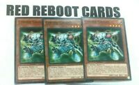3x Cyberse Gadget SDCL Common mint Yugioh