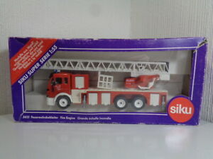 SIKU GERMANY No 3433 GERMANY VINTAGE MERCEDES BENZ FALCK FIRE ENGINE RARE MIB
