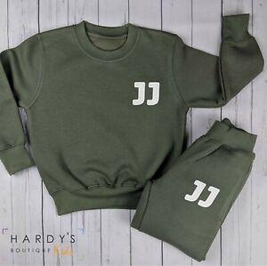 Personalised Initial Tracksuit (kids, boys, girls, custom, toddler, baby, gift )