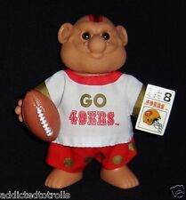 FOOTBALL Troll Doll 49ERS - NFL Excellent - SAN FRANSICO 49ERS