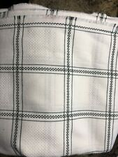 New ListingCross Stitch/Hardanger Fabric? - Approx. 6 Yards X 60�Wide Green And White
