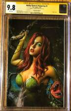 Harley Quinn & Poison Ivy Virgin - Ivy - Autographed Shannon Maer CGC 9.8