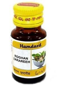 unani medicine Hamdard Roghan Zarareeh 10 ml x 4