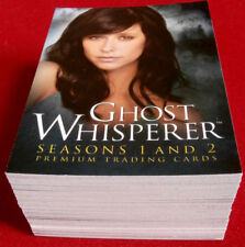 GHOST WHISPERER - Seasons 1 & 2 - Complete Base Set (72 cards) - Breygent 2009
