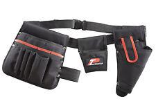 Technics 15 Pocket Toolbelt With Drill Holster - Quality Heavy Duty Tool Holder