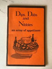 Cleveland South Suburban Alumnae Club cookbook Dips, Dabs & Nibbles 1976