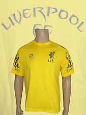 Liverpool Tattoo T-Shirt Yellow  AWSTM219 Size Large