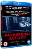 Paranormal Activity Blu-Ray (2010) Katie Featherston, Peli (DIR) cert 15