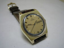 OMEGA DATE DAY 18K  YELLOW FILLED GOLD 1970 WATCH