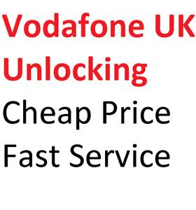 Unlock Code Service Samsung S6 EDGE S7 EDGE S8 PLUS S10 S10E S10+ S9 Vodafone UK